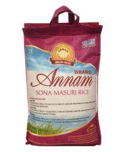 Annam Sona Masoori Rice - 10 kg
