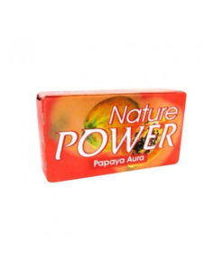 Nature Powder Papaya Soap Aura